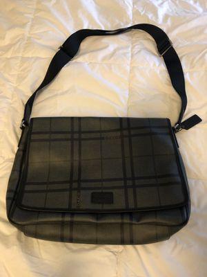COACH Black Messenger Laptop Bag for Sale in Carrollton, TX