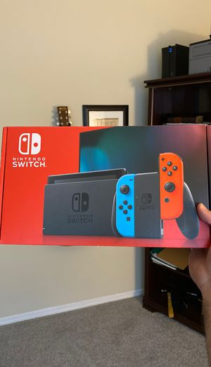 NINTENDO SWITCH GEN 2 - JUST PICKED UP. for Sale in Dallas, TX