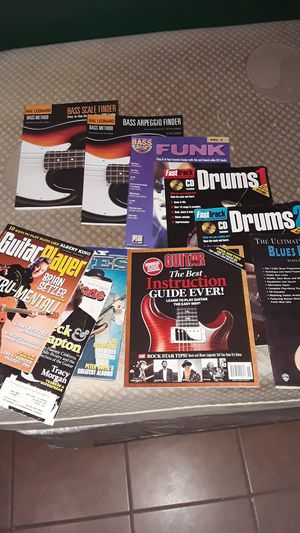 Music books and magazines for Sale in Carrollton, TX