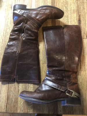 Ugg Channing II Chestnut Brown Leather Riding Boot Women's Size 8 EU 39. for Sale for sale  Ramona, CA