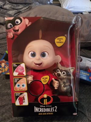 $25 new baby Jack Jack Incredibles 2 for Sale in South El Monte, CA