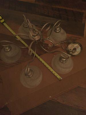 Hanging light fixture chandelier for Sale in Woodbridge, VA