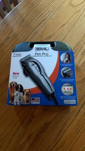 Wahl Pet-Pro Complete Pet Clipper Kit for Sale in Union, CT