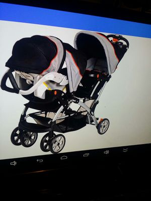 Baby trend double stroller for Sale in Orlando, FL
