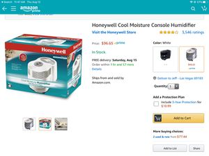 Honeywell humidifier brand new no box for Sale in Las Vegas, NV