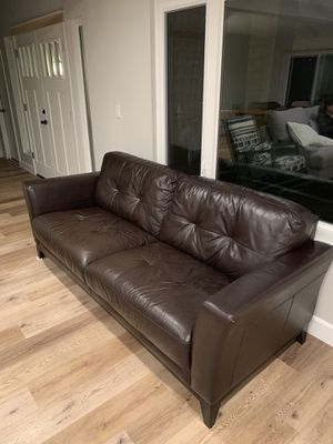 Premium Leather Sofa for Sale in San Diego, CA