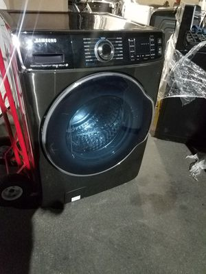 new samsung black stanless washer for Sale in Tustin, CA