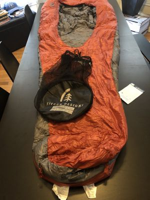 New Sierra Designs Backcountry Bed Down Sleeping Bag for Sale in Chicago, IL