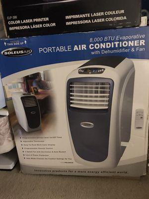 8000 BTU Soleus Air: Portable Air Conditioner, Dehumidifier, Fan for Sale in San Francisco, CA