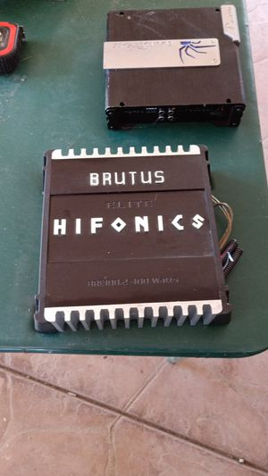Brutus elite hifonics 400 watts amplifier for Sale in South Dos Palos, CA