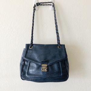 Blue Leather shoulder bag for Sale in Bassett, CA