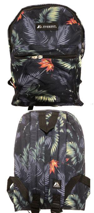 NEW! Tropical Backpack school bag travel luggage bag messenger beach pool shoulder bag gym bag work bag for Sale in Long Beach, CA