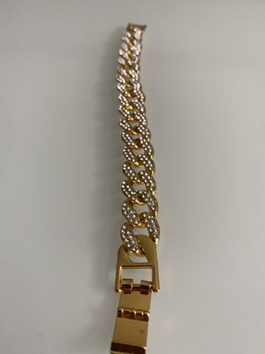 Gold Plated Cuban link Bracelet for Sale in Edgewater, CO