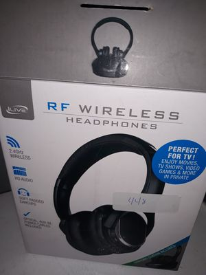 ILive RF wireless headphones, new for Sale in Queen Creek, AZ