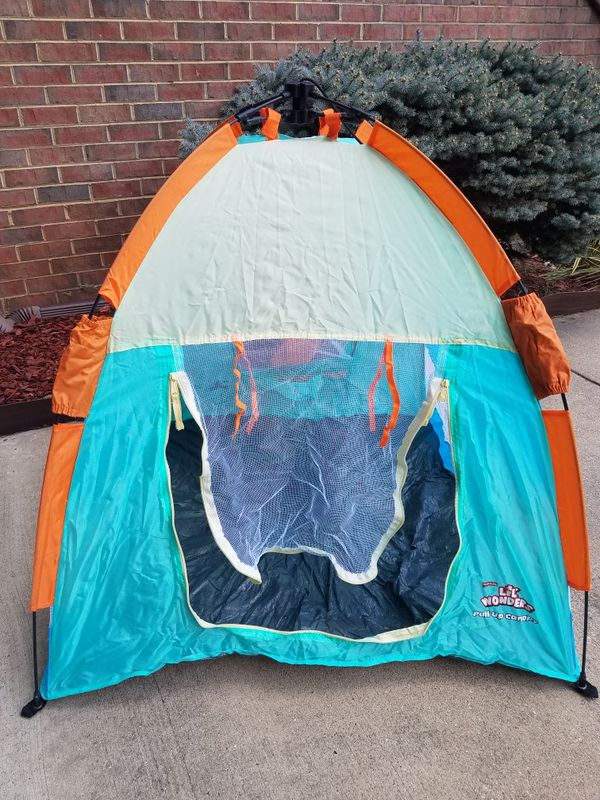 Kids waterproof travel tent /collapsible