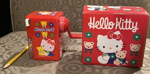 Hello Kitty Manual Pencil Sharpener - used a few times. for Sale in Skokie, IL