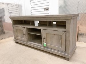 New weathered wood TV stand for Sale in Chamblee, GA