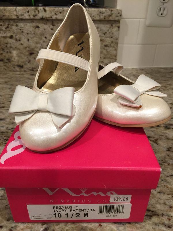 Nina girls dress shoes size 10.5