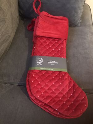 Martha Stewart set of 4 stockings for Sale in Avenal, CA