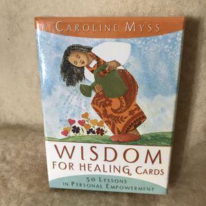 Caroline Myss Wisdom for Healing Cards for Sale in Anchorage, AK