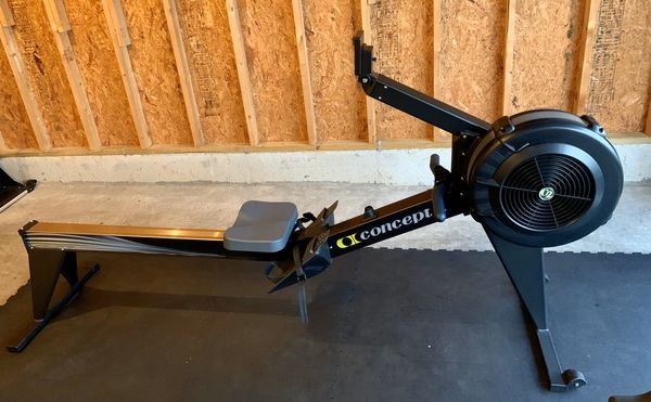 Concept 2 model E rower with PM5 monitor