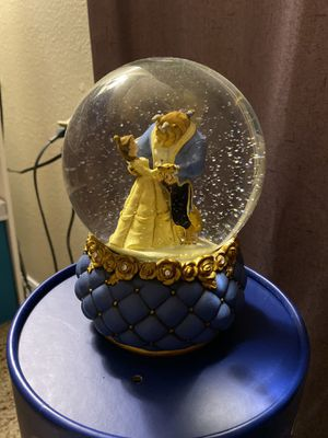 Disney's Beauty and the Beast Snow Globe for Sale in Wheat Ridge, CO
