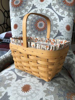 Longaberger Spring Basket Halloween Candy Corn Pumpkin Liner Protector Set for Sale in Neosho, MO
