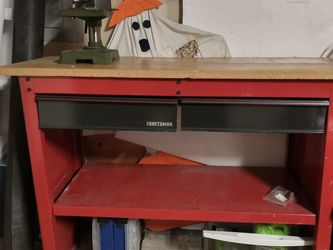 Craftsman Work Bench And Drill Press for Sale in Puyallup,  WA