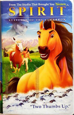 Spirit: Stallion of the Cimarron VHS Tape for Sale in Axtell, TX