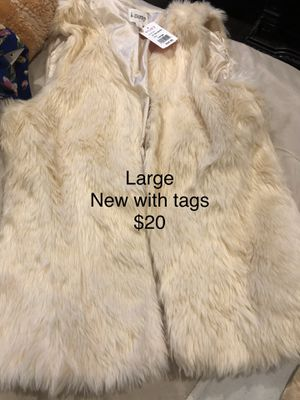 Women fur vest for Sale in Chicago, IL