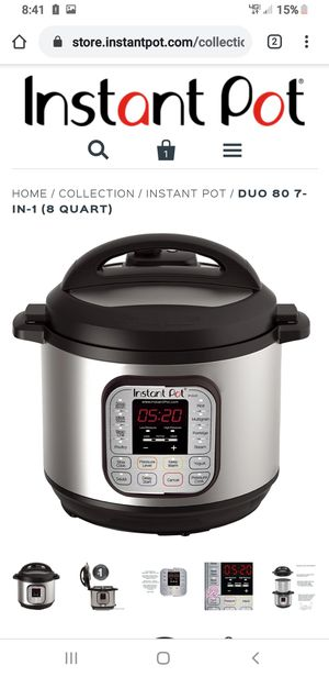 Instant pot duo 8qt for Sale in Portland, OR
