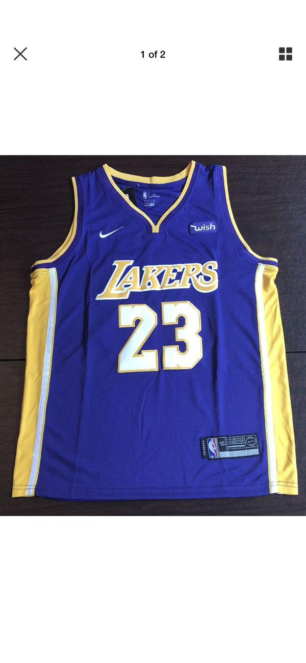 ac52a857241e LeBron James Laker jersey for Sale in Mesa