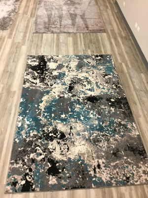 Premium Grade 8x10 Turkish Rug / Tri color in Turquoise for Sale in Des Plaines, IL