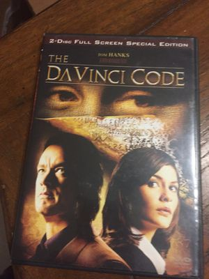 The Davinci Code 2 Disc Full screen Special Edition for Sale in Pompano Beach, FL