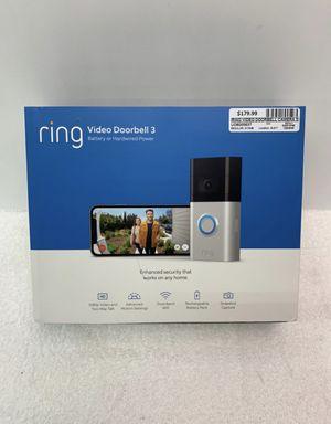 Ring Video Doorbell 3 for Sale in Cedar Hill, TX