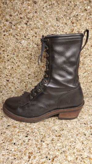 Ariat Mens Packer Black 91/2 with Slant Stacked Heel for Sale in Hillsboro, OR