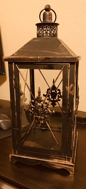 Brushed brown/bronze candle holder for Sale in Surprise, AZ