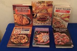 Weight Watchers Cookbooks (6 for $6) for Sale in San Antonio, TX
