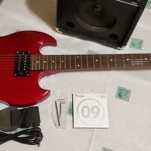 Epiphone SG Special Cherry Red Electric Guitar and Amp for Sale in Detroit, MI