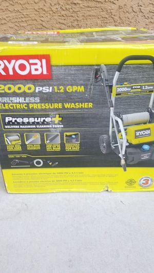 Ryobi 2000psi pressure washer for Sale in North Las Vegas, NV