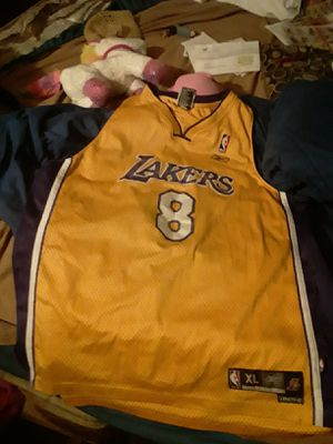 AUTHENTIC Kobe Bryant #8 Team Player Jersey for Sale in Tucson, AZ