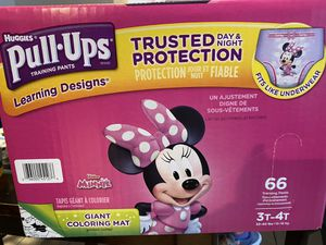 Huggies pull ups 3t-4t for Sale in San Diego, CA