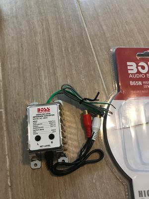 Boss High level to low level converter B65N for Sale in Mentor, OH