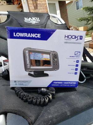 Lowrance Hook2 5 triple shot fish finder for Sale in Fountain, CO