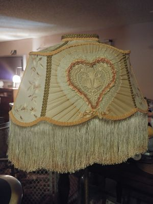 Beautiful Victorian Floor lamp with shade 64' (FIRM $60) for Sale in Fresno, CA