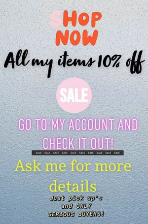 WOMENS CLOTHES SALE!! 10% OFF ALL ITEMS!! LAST DAY ON THE 2/21 for Sale in Downey, CA