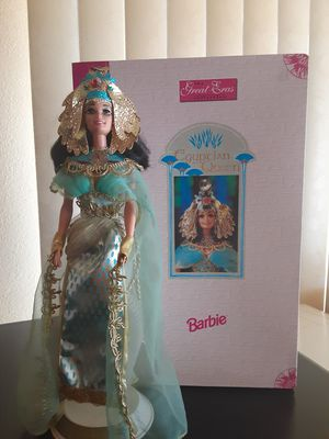 VINTAGE 1993 EGYPTIAN QUEEN BARBIE DOLL GREAT ERAS COLLECTION for Sale in Long Beach, CA