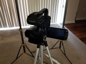 Canon XA10 full HD camcorder (includes 60gb internal flash drive) for Sale in Temple Hills, MD