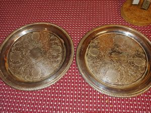 Silver plated china for Sale in Silver Spring, MD