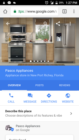 Appliance Repairs for Sale in New Port Richey, FL